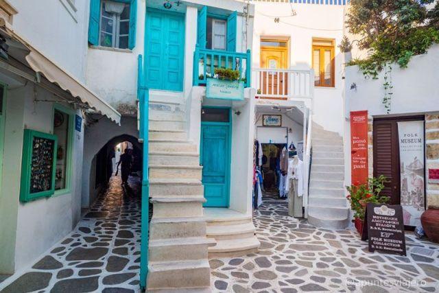 Chora - Naxos - Viaje a las islas griegas