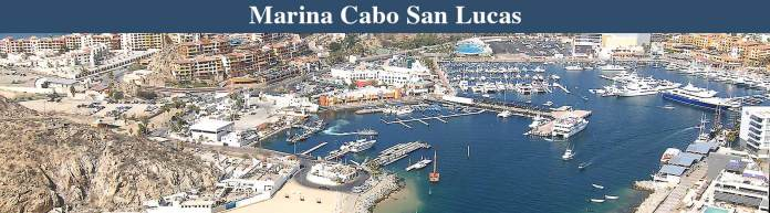Marina Cabo San Lucas offers full services for luxury yachts.