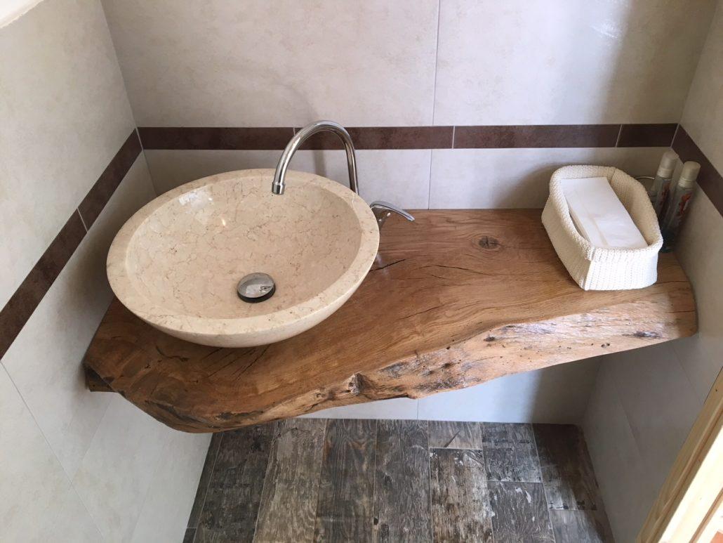 Arredamento Legno Rustico Lo Scalpellino Castano Primo