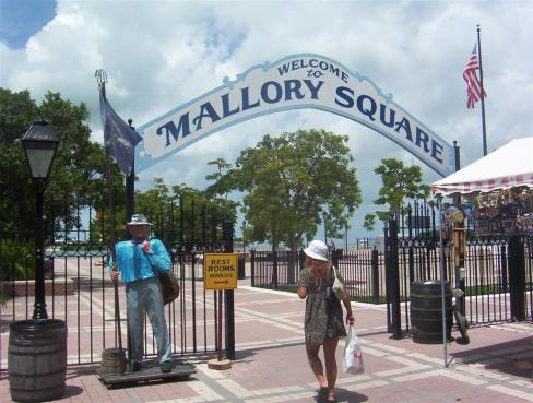 Mallory Square en Key West