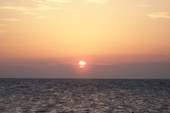 Atardecer en las playas de Key Largoen