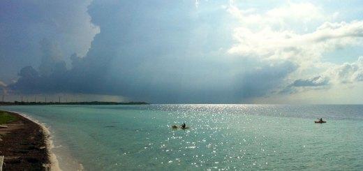 Tormenta en Playa de los Cayos