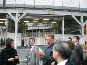 Artesia Mayor Tony Lima seen during a controversial trip he took to China and Japan in 2012 to ride a variety of high speed trains.  Photo Via Facebook