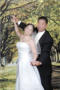 marriage fraud - 'wedding' shot 4