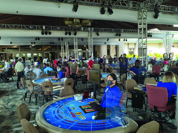 gardens casino
