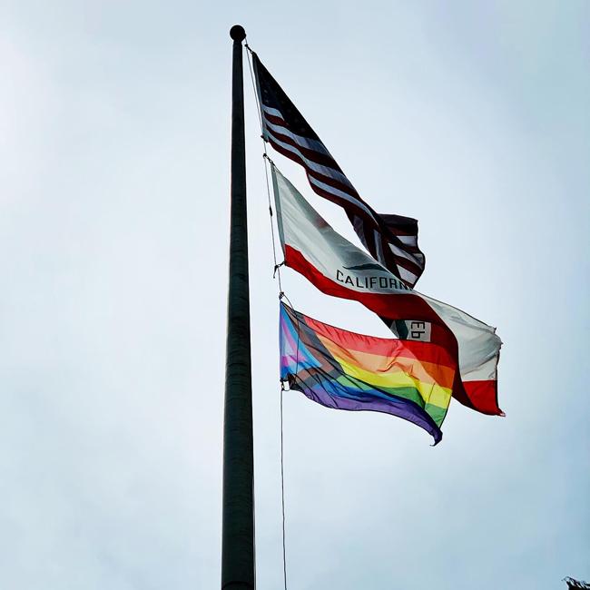 pride, progress flag