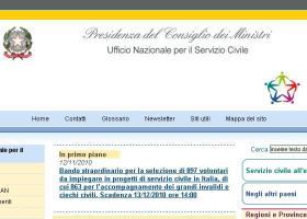 Servizio Civile - il sito