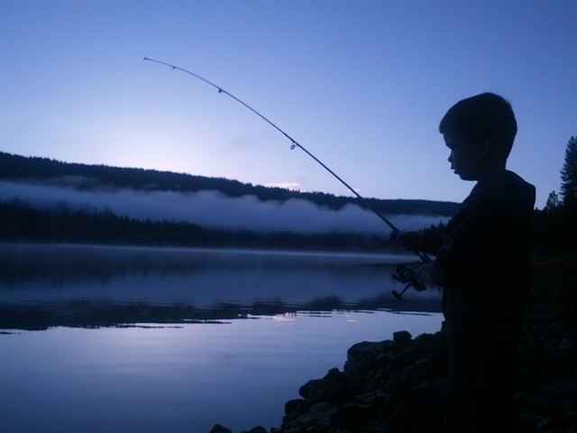 Pesca notturna a Moncalieri