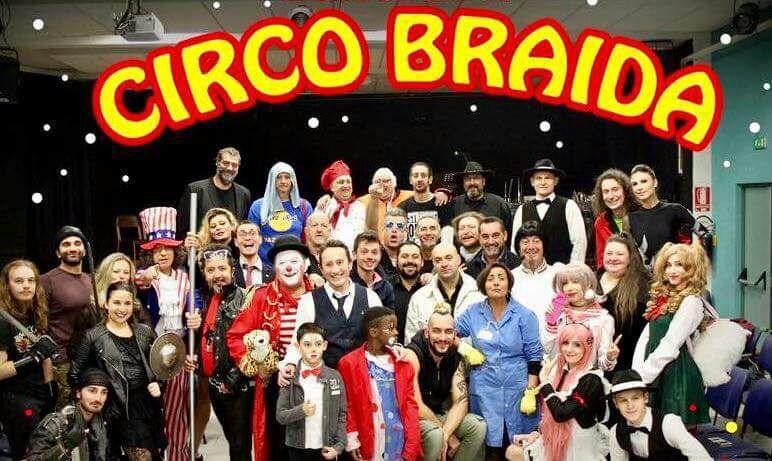 Comici senza gabbia per il Circo Braida