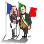 Santena, Camillo Benso torna in vita sotto forma di cartoon per celebrare l'Unità d'Italia