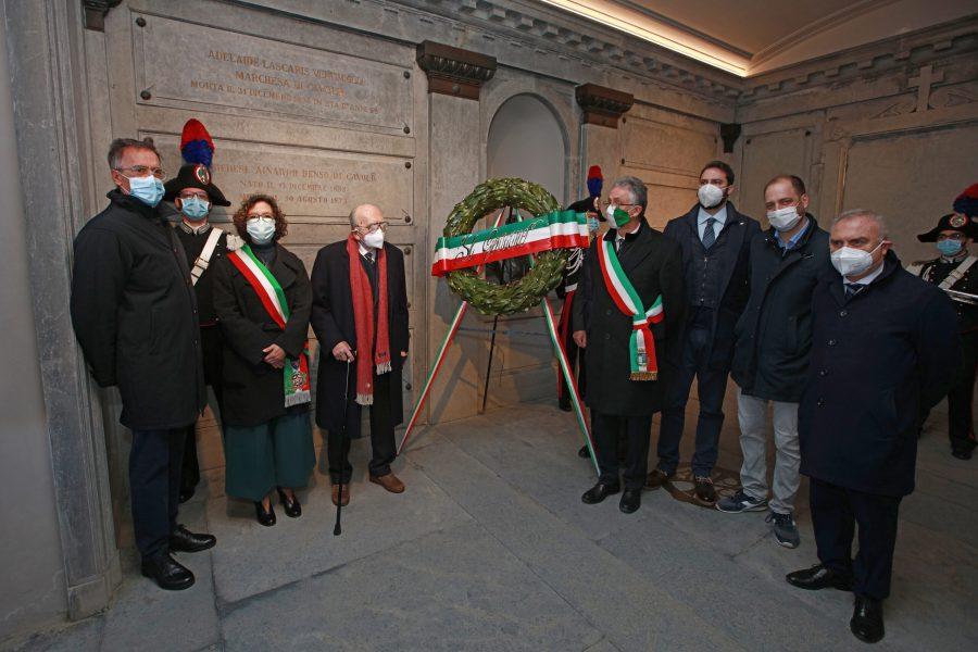 Santena, aperto simbolicamente il Memoriale Cavour