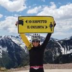 """Chieri inaugura i cartelli """"Io rispetto il ciclista"""""""