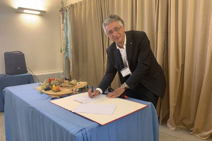 Santena, siglato l'accordo del progetto del Distretto del Cibo Chierese e Carmagnolese