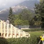 Bussoleno, realizzato un nuovo anfiteatro in legno col progetto Matilde