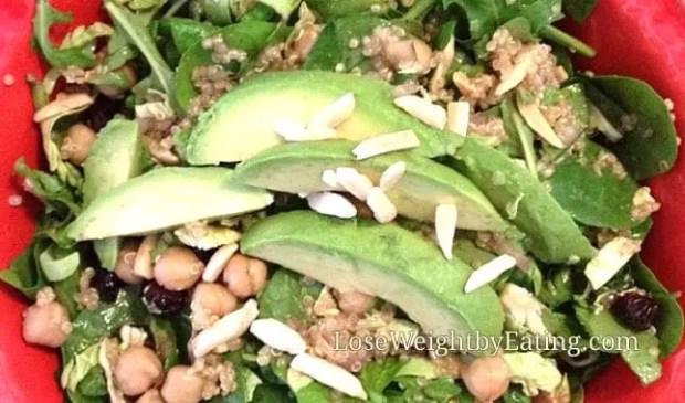 Detox Diet Salad - Beautifying Salad with Honey Mustard Vinaigrette