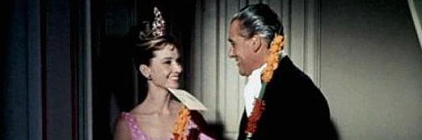 José Luis de Vilallonga con Audrey Hepbrun en 'Desayuno con diamantes'