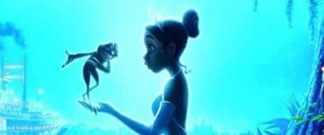 Cartel de 'La princesa y la rana'