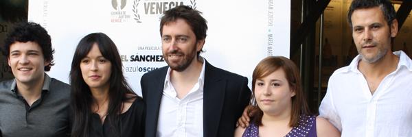 El equipo de la película 'Gordos' (Foto: Pablo López)