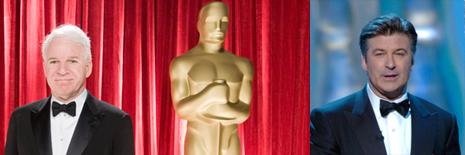 Steve Martin y Alec Baldwin presentarán los Oscar