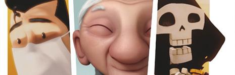 Un cortometraje español contra Wallace y Gromit