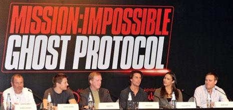 'Mission: Impossible 4' ya tiene título definitivo