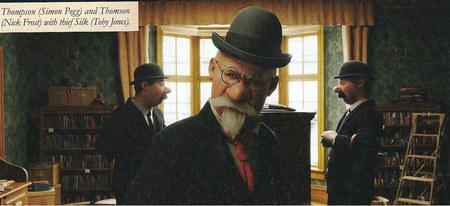 Nuevas fotografías del 'Tintín' de Spielberg