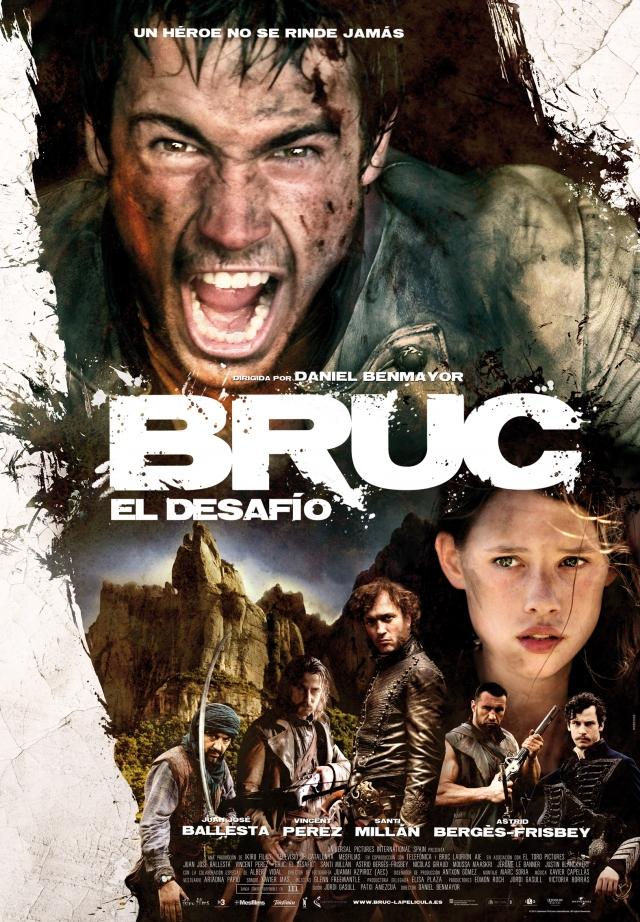 Cartel definitivo de 'Bruc'