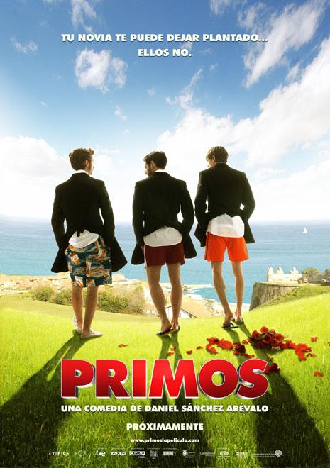 Poster de 'Primos', de Daniel Sánchez Arévalo