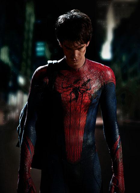 Primera imagen de Andrew Garfiled como Spiderman