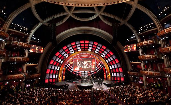 Los Oscar declaman 'El discurso del rey'