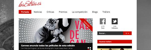 La nueva imagen de losExtras.es