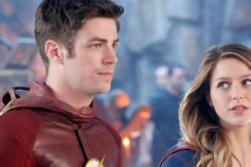 The Flash y Supergirl