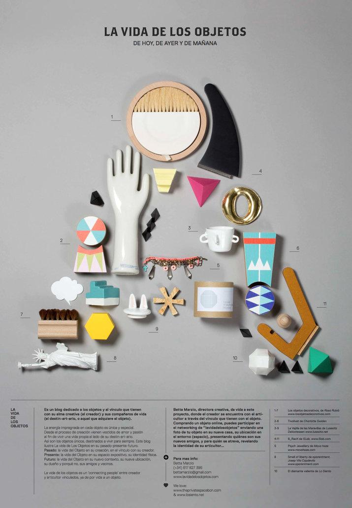 La vida de los objetos (Lettering, Identity) by Lo Siento Studio, Barcelona