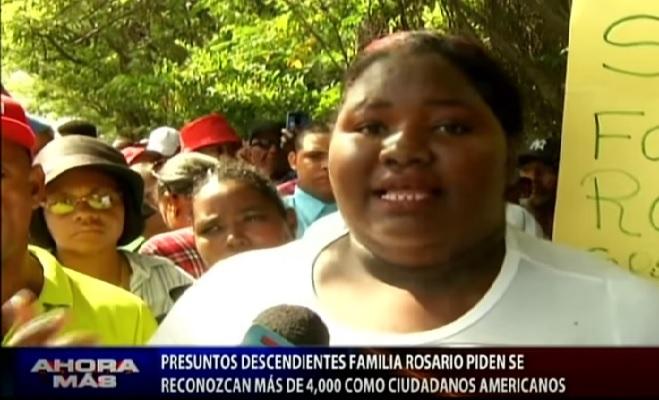Los Rosario exigen herencia de 13 trillones de euros