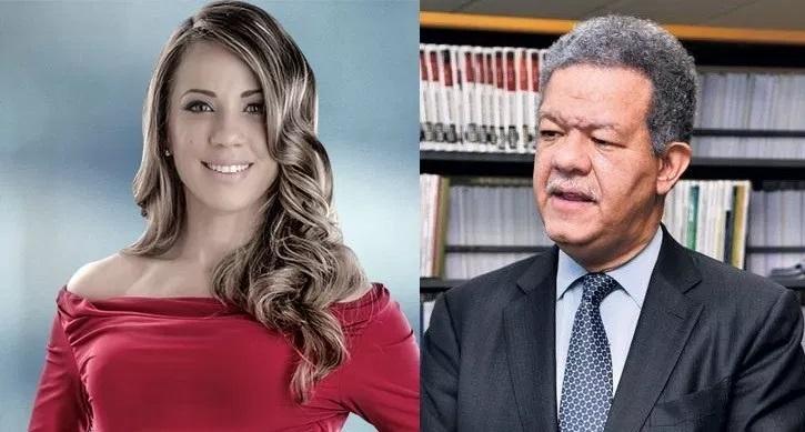 Karina Larrauri arremete contra Leonel Fernández