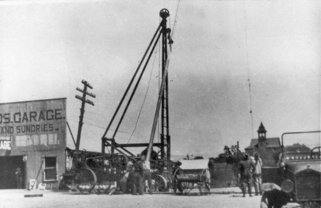 History of Los Olivos Flagpole