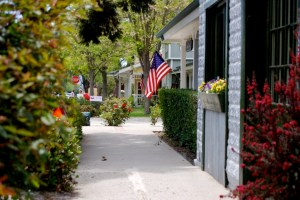 Los Olivos, CA - charming town in Santa Barbara wine country California