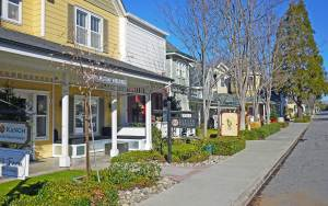 Charming wine tasting town of Los Olivos, CA - in the middle of Santa Barbara Wine Country by Liz Dodder