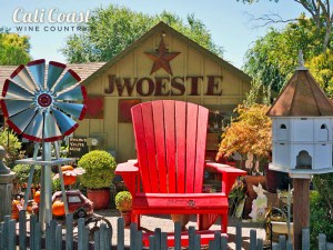 J. Woeste in Los Olivos