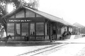 Los Olivos Historical Railway Station