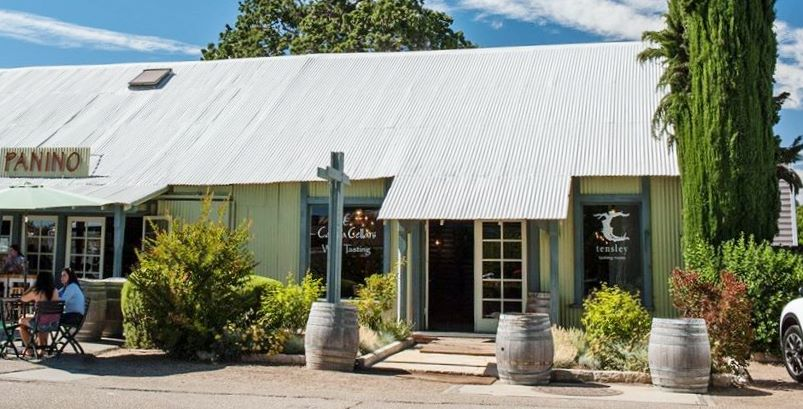 Tensley Wines Tasting Room in Lo Olivos