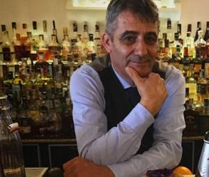 Leandro Serra, bar manager del The Duke Cocktail Lounge Bar de La Maddalena