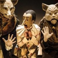 Pinocchio, Mangiafuoco, il gatto e la volpe