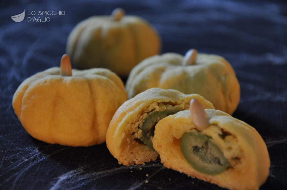 Ricetta  Zucche di Halloween al formaggio  Le ricette