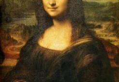retrato de la mona lisa efecto de la mirada