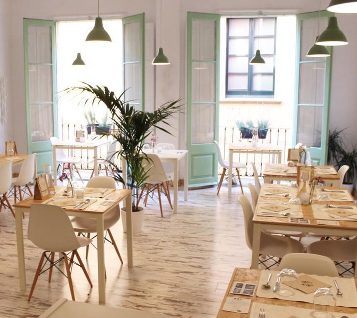 Interior del restaurante 'El Vergel' de Tarragona