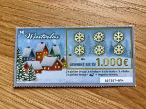 Winterlos von Lotto Niedersachsen