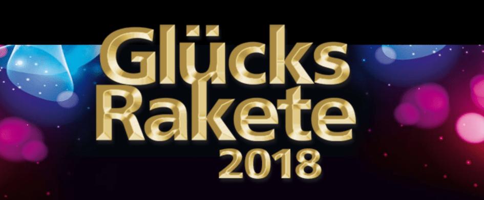 Glücksrakete 2018 Banner