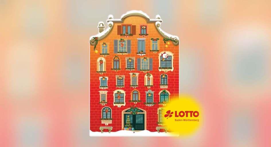 Lotto Adventskalender von Baden-Württemberg