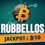 Bitcoin-Rubbellos, Jackpot: 10 Bitcoins